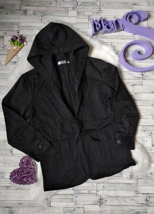Пиджак fengbinjuelun f/b черный с капюшоном на мальчика