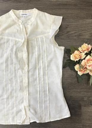 Крутая майка блуза calvin klein1 фото