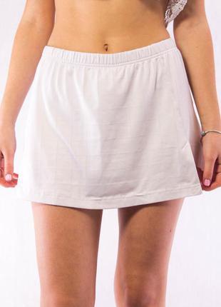 Шорты юбка женская спортивная белая esprit sport (36) (s)