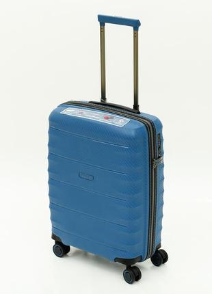 """Ультралегкий французский чемодан малый из полипропилена на 4-х колесах """"airtex paris"""" 242"""
