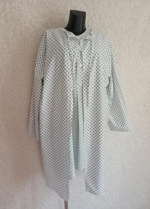 Ночная рубашка с халатом - накидкой