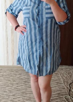 Женская туника/платье 54 размер