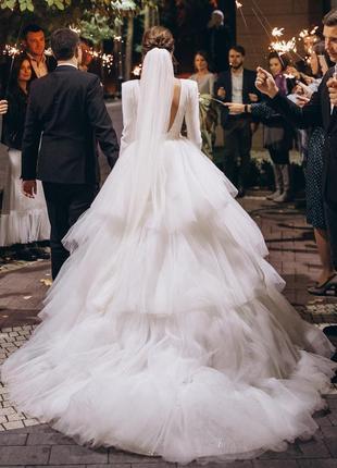 Свадебное платье milla nova9 фото