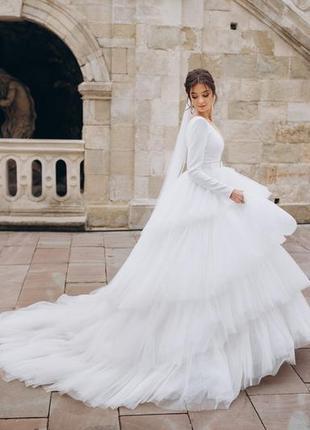 Свадебное платье milla nova6 фото
