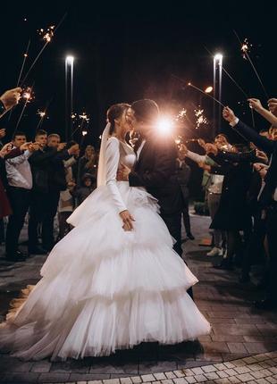 Свадебное платье milla nova8 фото