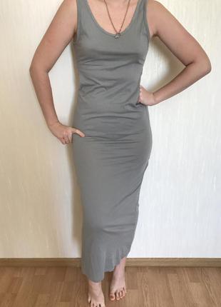 Продам платье длинное topshop