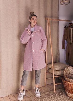 Пальто барашек1 фото