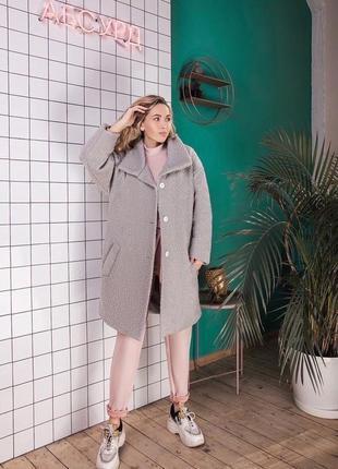 Пальто барашек6 фото