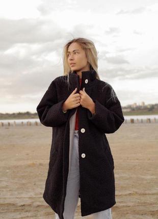 Пальто барашек7 фото