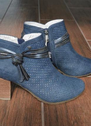 Ботиночки женские tom tailor 36