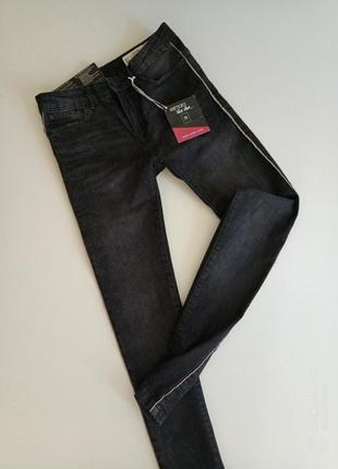 Стильние фирменние джинси скинни от немецкого дизайнера heidi klum, 34(xs-s)