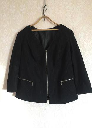 Женский деловой пиджак. большой размер. р.62-64-66