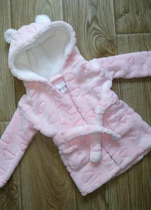 Шикарный халат для девочки primark baby