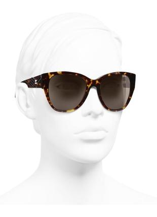 Солнцезашитные очки chanel butterfly