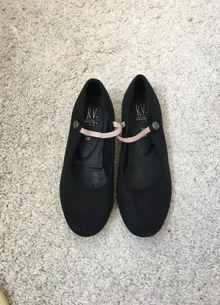 Детские туфли для танцев.22см