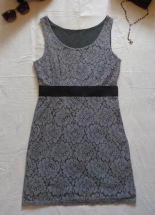Платье h&m гипюр