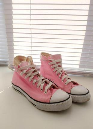 Розовые кеды. как новые!
