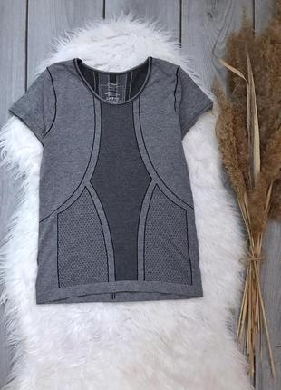Crane серая спортивная футболка фирменная xs 34 6 s 36 8