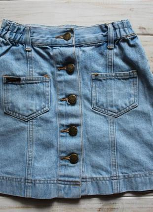 Джинсовая юбка explorer на 8лет на рост 128см
