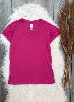 The north face футболка спортивная фирменная оригинал женская розовая s 36 8 m 38 10