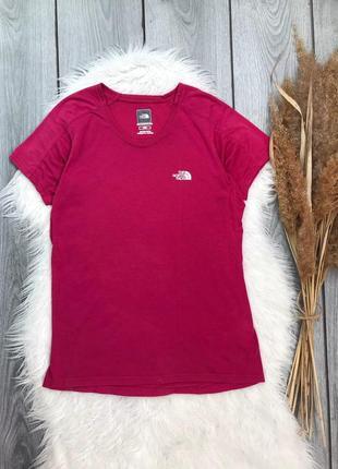 The north face футболка спортивная фирменная оригинал женская розовая m 38 10