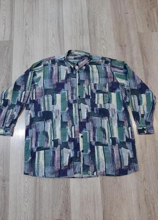 Рубашка большой размер