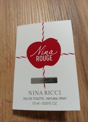 Nina ricci nina rouge туалетная вода