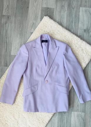 Блейзер пиджак marks&spencer лавандового цвета