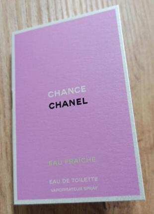 Chanel chance eau fraiche туалетна вода1 фото