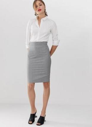 Полушерстяная классическая юбка нидерландского бренда canda