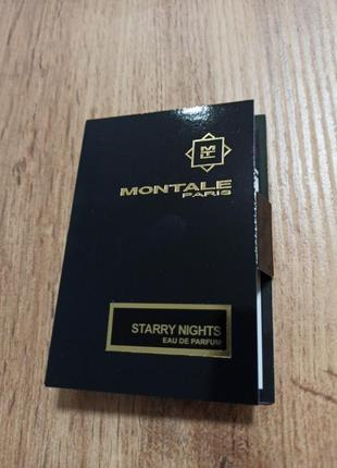 Montale starry nights парфюмированная вода