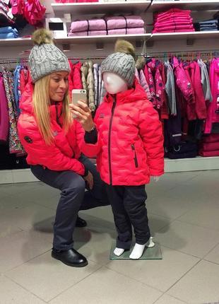 Зимняя куртка курточка для девочки р.128(+6) lego wear reima columbia lenne