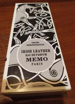 Memo irish leather тестер