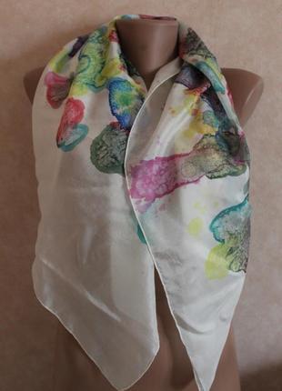 Креативный шелковый платочек!