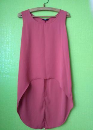 Трендовые блуза с удлененной спинкой