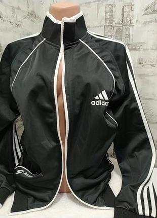 Черная кофта adidas