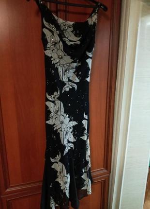 Платье шифоновое 48 р