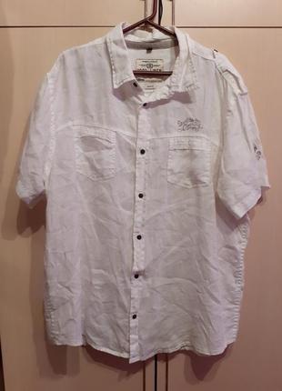 Рубашка лен, angelo litriko
