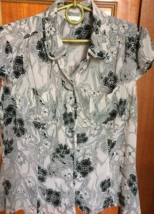 Блузка летняя marks & spencer (m&s)