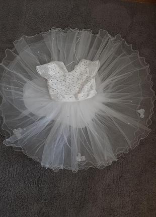 Нарядно пышное платье