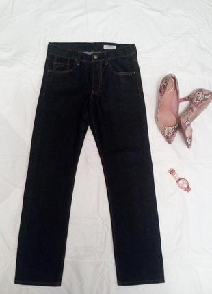 Черные джинсы 7/8 р.xs