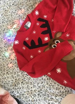 Рождественский свитшот