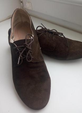Стильні жіночі туфлі оксфорди. розмір 38.