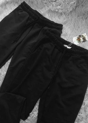 Спортивные штаны со шнуровкой на манжетах