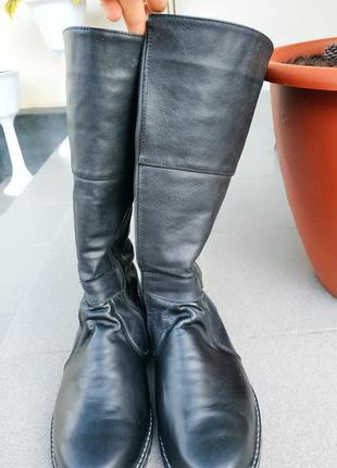 Шкіряні зимові чоботи (сапошки)