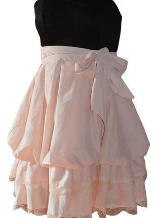 Коктейльное платье нежный персик , miss posh , s