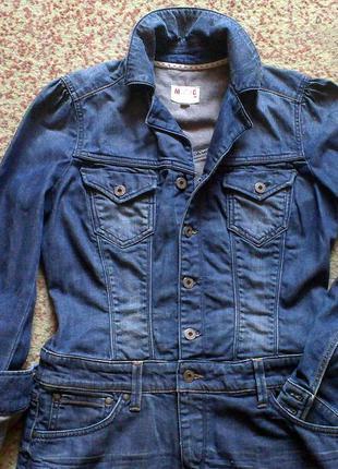 Модное стильное джинсовое платье-туника для стильной! оригинал mustang