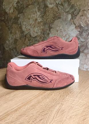 Streetwear 39 р замша кроссовки кросівки туфли