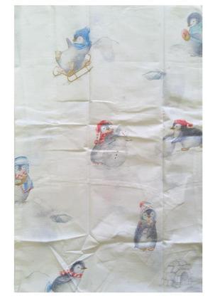 Наволочка с забавным рисунком 40x60 бязь