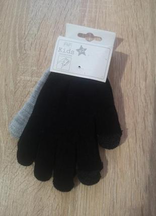 Набор рукавицы перчатки сенсорные  f&f touch screen